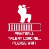 Paintball Talent Loading - Men's Premium T-Shirt
