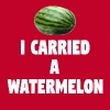 Dirty Dancing Quote - I Carried A Watermelon - Men's Premium T-Shirt