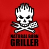 Natural born griller - Men's Premium T-Shirt