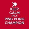 Keep Calm Ping Pong - Men's Premium T-Shirt