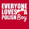 I Love Polish Boys - Men's Premium T-Shirt