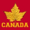 Canada Souvenir Yellow Maple Leaf Canada Souvenirs - Men's Premium T-Shirt