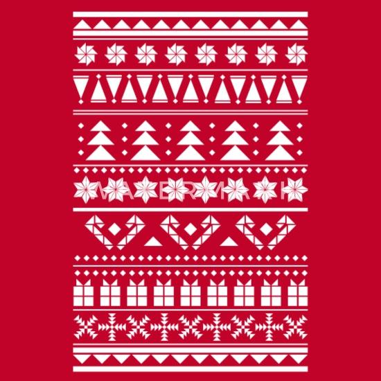 Christmas Sweater Pattern.Christmas Sweater Pattern Men S Premium T Shirt Spreadshirt