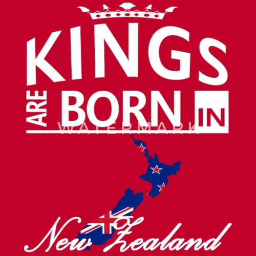 New Zealand Born Kings Dad Husband Birthday Gift By The Smiley Goods