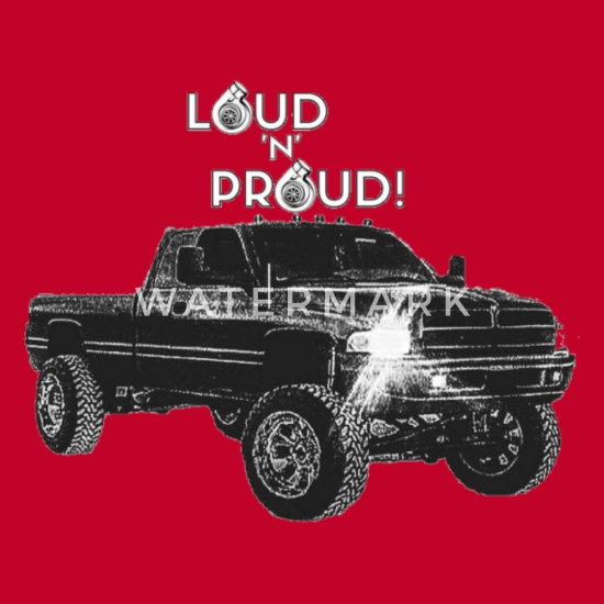 LOUD 'N' PROUD 2nd Gen Cummins Apparel! Men's Premium T-Shirt