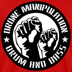 Drone Manipulation FISTS UP - Men's Premium T-Shirt