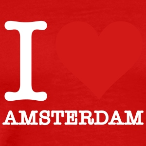 I Love Amsterdam - Men's Premium T-Shirt