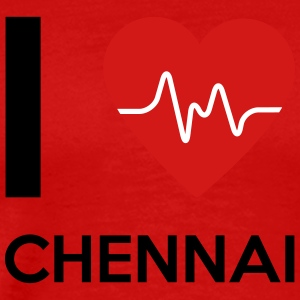 I Love Chennai - Men's Premium T-Shirt