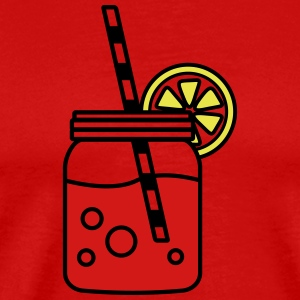 A glass of lemonade - Men's Premium T-Shirt