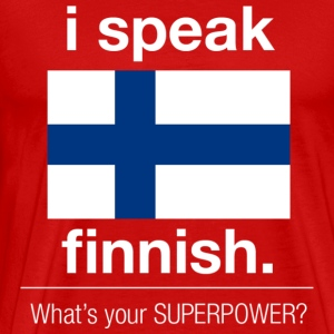 Finnish superpower - Men's Premium T-Shirt
