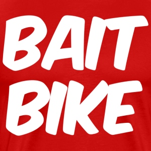 BAIT BIKE WHITE - Men's Premium T-Shirt