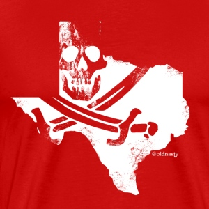 Pirate Texas Jolly Roger - Men's Premium T-Shirt