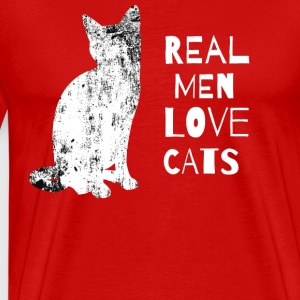 real men love cats iloveimg resized - Men's Premium T-Shirt