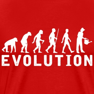Gardening Evolution T Shirt - Men's Premium T-Shirt