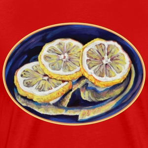 Refreshing Lemon Slices - Men's Premium T-Shirt