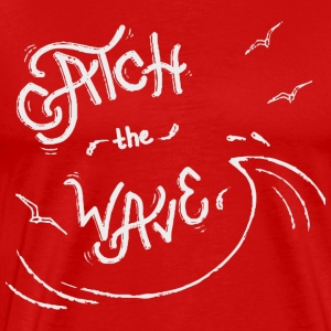 Catch the wave - Men's Premium T-Shirt