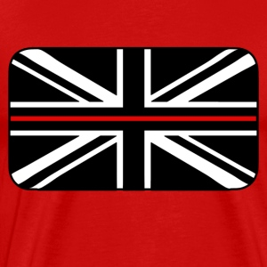 Thin Red Line UK Flag - Men's Premium T-Shirt