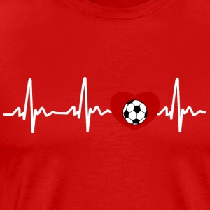 My Heart Beats For Soccer - Men's Premium T-Shirt