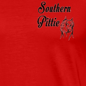 Southern Pittie Emblem - Men's Premium T-Shirt