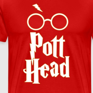 Pott Head - Harry Potter Fan Shirt Design - Men's Premium T-Shirt