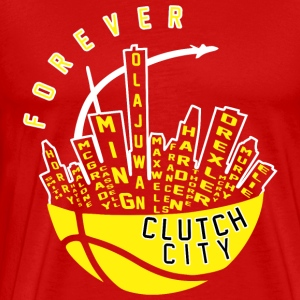 Clutch City Forever - Men's Premium T-Shirt