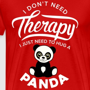 Pandashirt I just need to hug a panda - Men's Premium T-Shirt