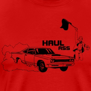 haul arse roadrunner - Men's Premium T-Shirt