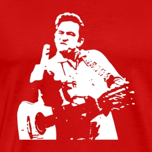 Johnny Cash - Men's Premium T-Shirt