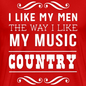 I like my men the way I like my music country