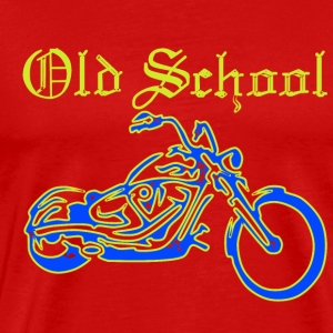 Old School Chopper - Men's Premium T-Shirt