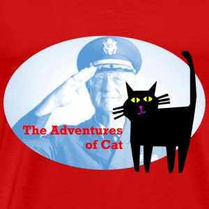 Cat Sees the Vet - Men's Premium T-Shirt