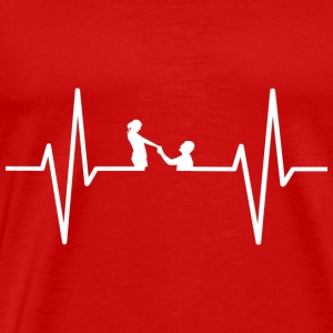 My heart beats for marrying! gift - Men's Premium T-Shirt