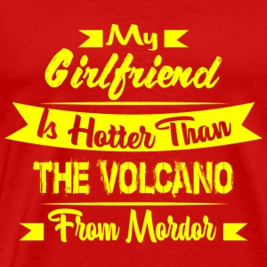 GIFT - HOTTER THAN VOLCANO YELLOW - Men's Premium T-Shirt