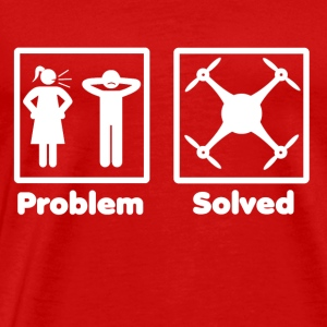 problem solved drohne drone 2 - Men's Premium T-Shirt