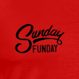 Black - Sunday Funday - Men's Premium T-Shirt