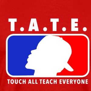 Touch All Teach Everyone Eyes 2 The Sky Logo - Men's Premium T-Shirt