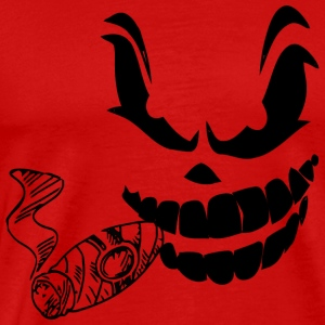 scary cigar - Men's Premium T-Shirt