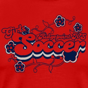 Ridgepoint HS Girls Soccer - Men's Premium T-Shirt