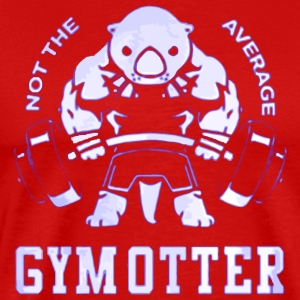 NOT THE AVERAGE GYM OTTER - Men's Premium T-Shirt