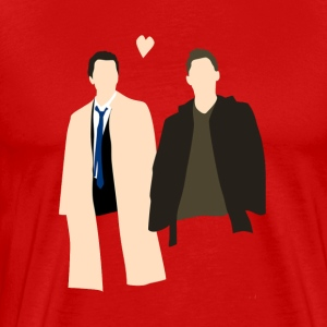 Destiel Is Real - Men's Premium T-Shirt