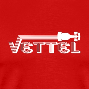 Auto Racing Legend vettel - Men's Premium T-Shirt