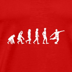 EVOLUTION Soccer football balls Kick off gift ape - Men's Premium T-Shirt