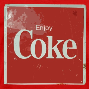 Enjoy Coke - Men's Premium T-Shirt