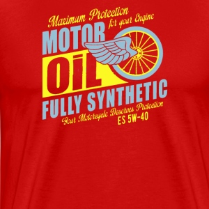 Maximum proteetion for your engine motor oil - Men's Premium T-Shirt