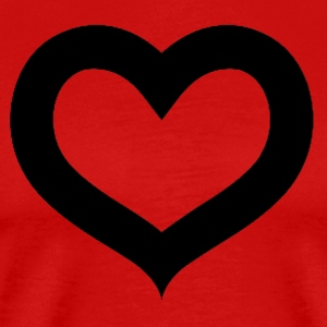 AKOMA the heart - Men's Premium T-Shirt