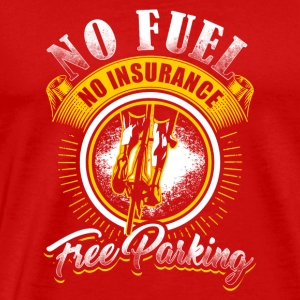 Cycling No Fuel - Men's Premium T-Shirt