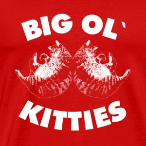 Big OL Kitties tee shirt - Love cat gifts - Men's Premium T-Shirt