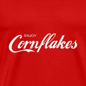 enjoy CORNFLAKES - Men's Premium T-Shirt