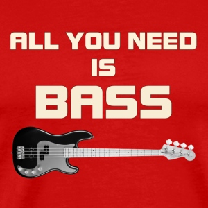 Need bass white color - Men's Premium T-Shirt