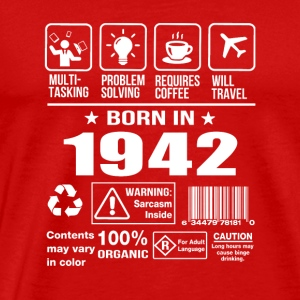 Born In 1942 - Men's Premium T-Shirt
